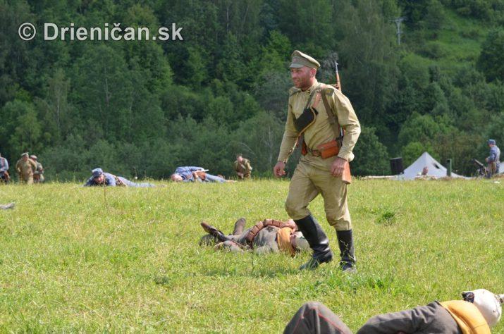 Rekonštrukcia bojov Karpaty 1914/1915 – Hostovice