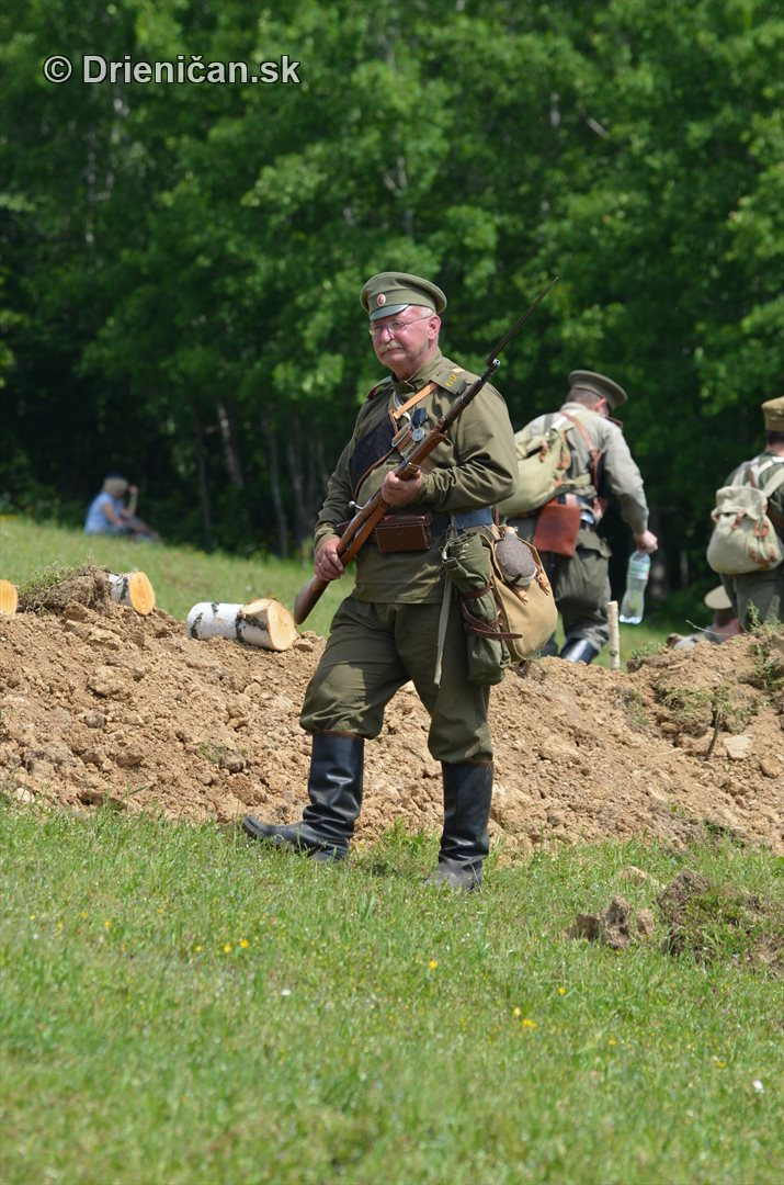 rekonstrukcia bojov karpaty 1915 hostovice_42