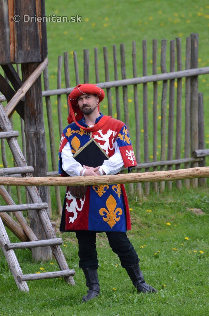 stredoveky vojensky tabor stara lubovna_27
