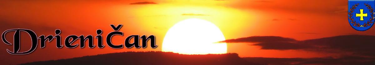Logo č.81 , západ slnka nad Drienicou...