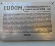 Odhalenie pamätnej tabule - Sabinov