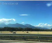 Vysoké Tatry pohľadom z auta