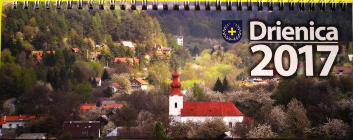 Kalendár obce Drienica 2017 - úvodná strana