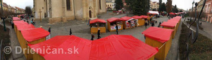 Prešovské Vianočné trhy 2016-panoráma
