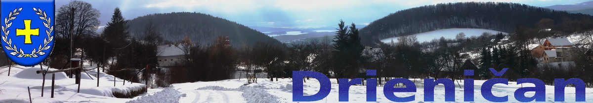 Logo č.87 , Pohľad z hornej časti obce pomedzi Hirky... December