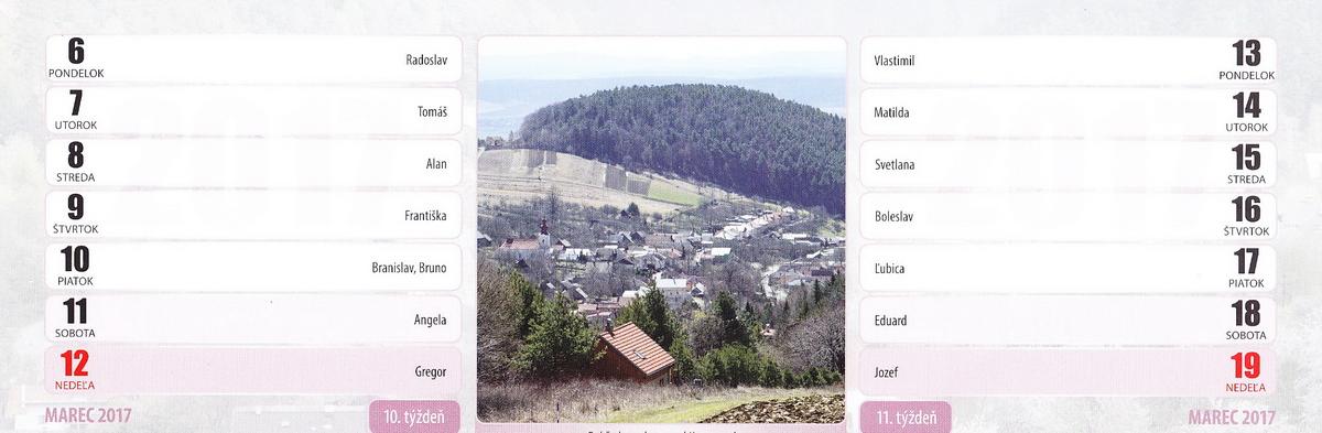 Pohľad na obec spod Kamennej