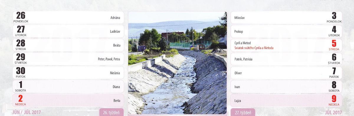 Nová regulácia potoka na dolnom konci