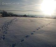 Zima sneh a mráz...