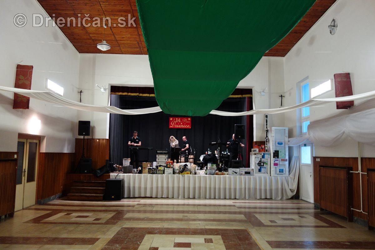 Tohtoročný ples obce Drienica sa bude niesť v zelenej