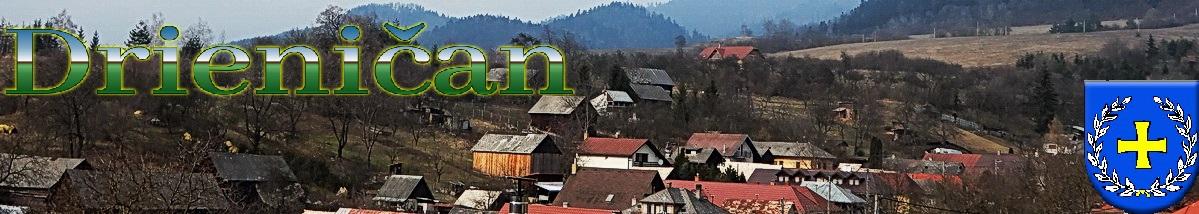 Logo č.89 , Horný koniec obce Drienica, ešte stále chladné marcové dni...