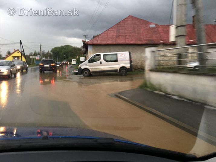Prešov a okolie zasiahli silné búrky