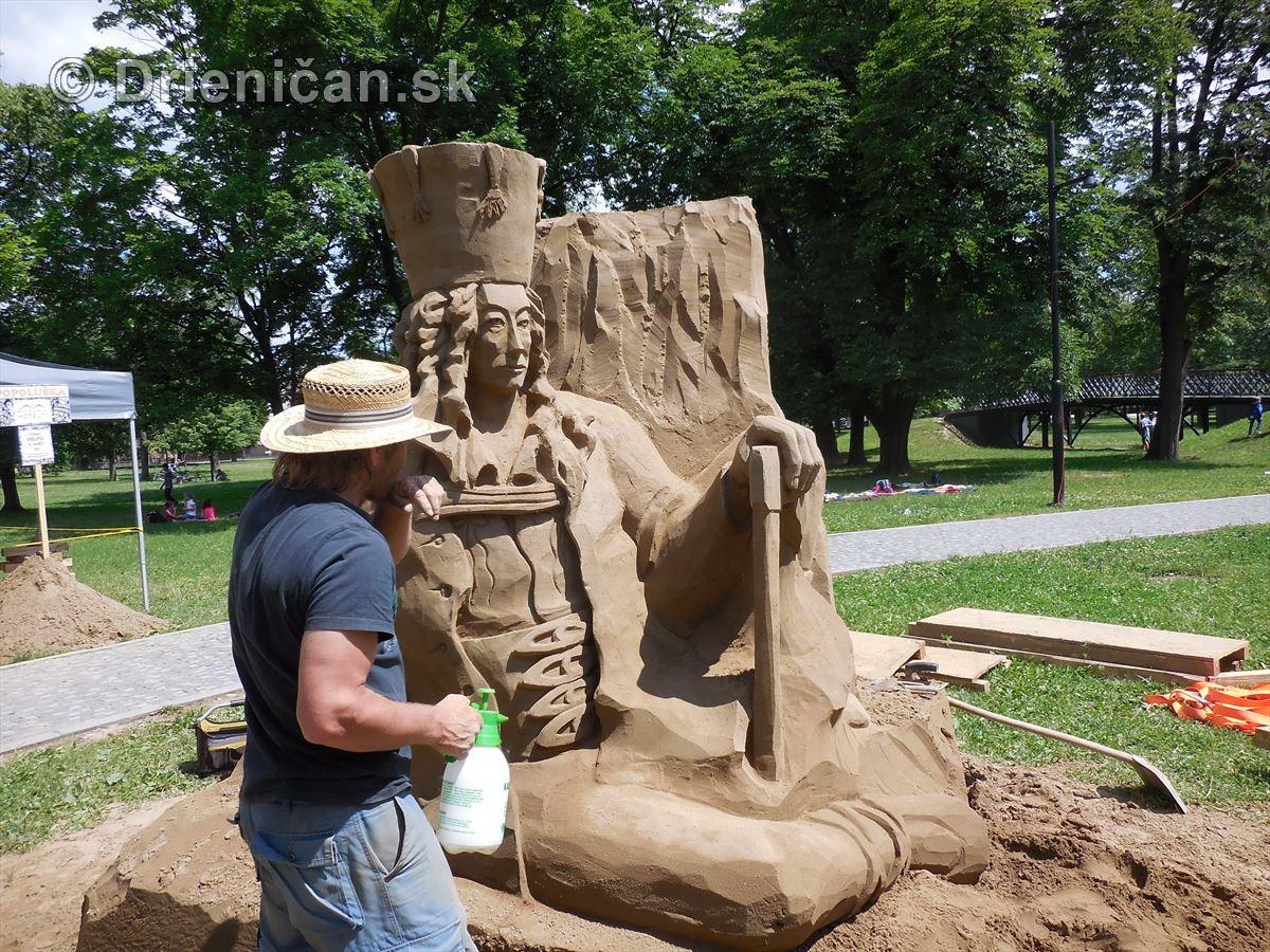 Festival pieskových sôch v Košiciach