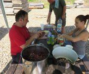 Majster kuchár vo varení gulášu-Drienica 2017