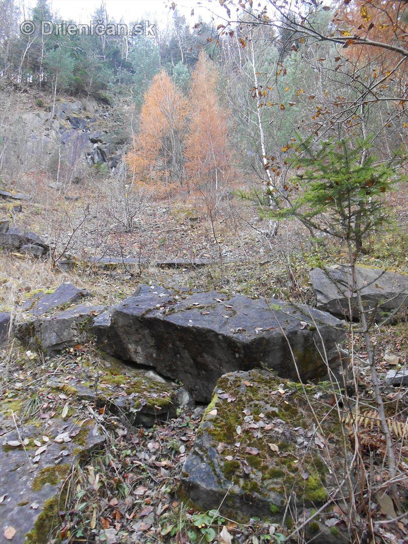 Kameňolom v rekreačnej oblasti Drienica-Lysá