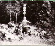 Odpočinok na vrchole Žobráka po výstupe z Krížov.