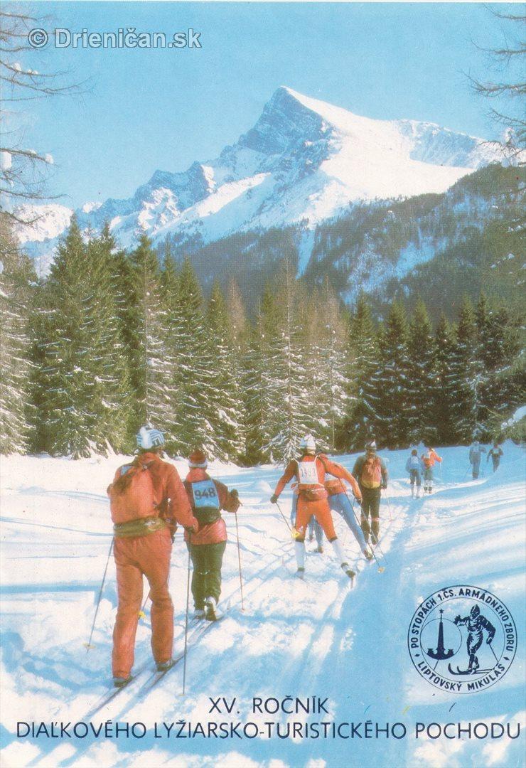 XV. Ročník diaľkového lyžiarsko-turistického pochodu.