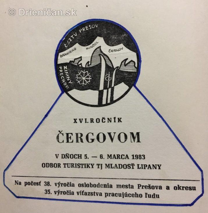XVI. ročník Čergovom v dňoch 6.-. marca 1983