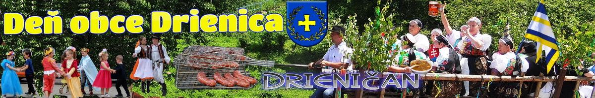 Logo č.97, Oficiálna pozvánka na deň obce Drienica, ktorá sa koná každý rok !