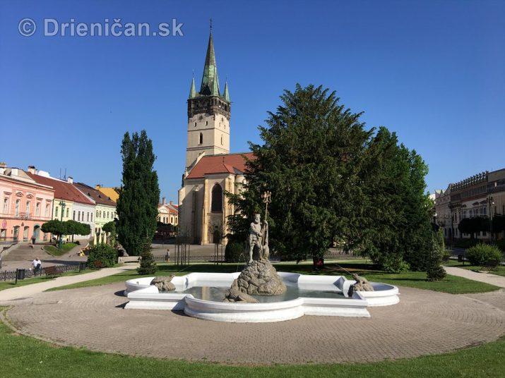Neptúnova fontána v Prešove