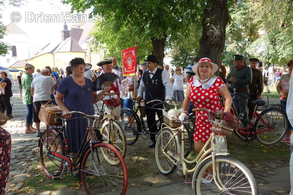 Retro Cyklo Deň v Sabinove