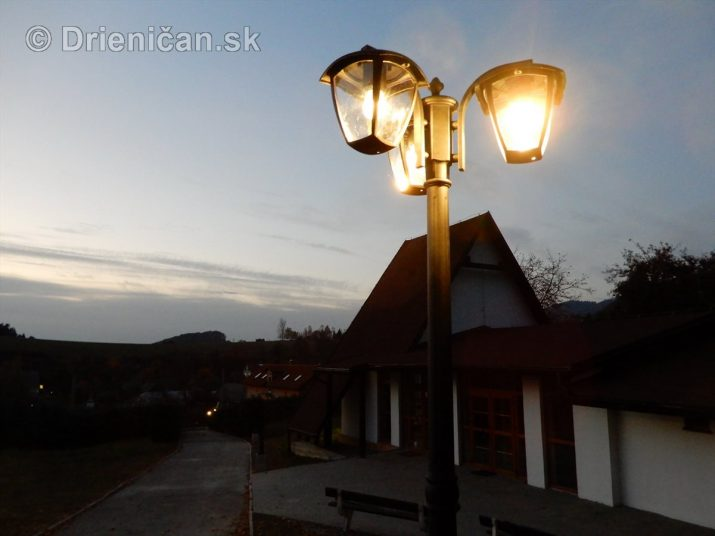 Nové osvetlenie a dokončenie cesty na cintoríne