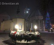 Vianočná výzdoba mesta Sabinov