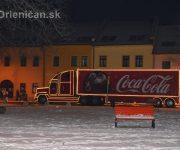 Vianočný kamión v Sabinove