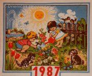 Zbierka látkových kalendárov