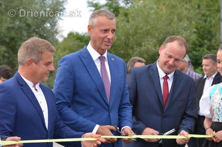 Slávnostné otvorenie cykloturistického chodníka Sabinov-Drienica
