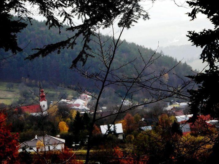 Jesenné ticho v lese...