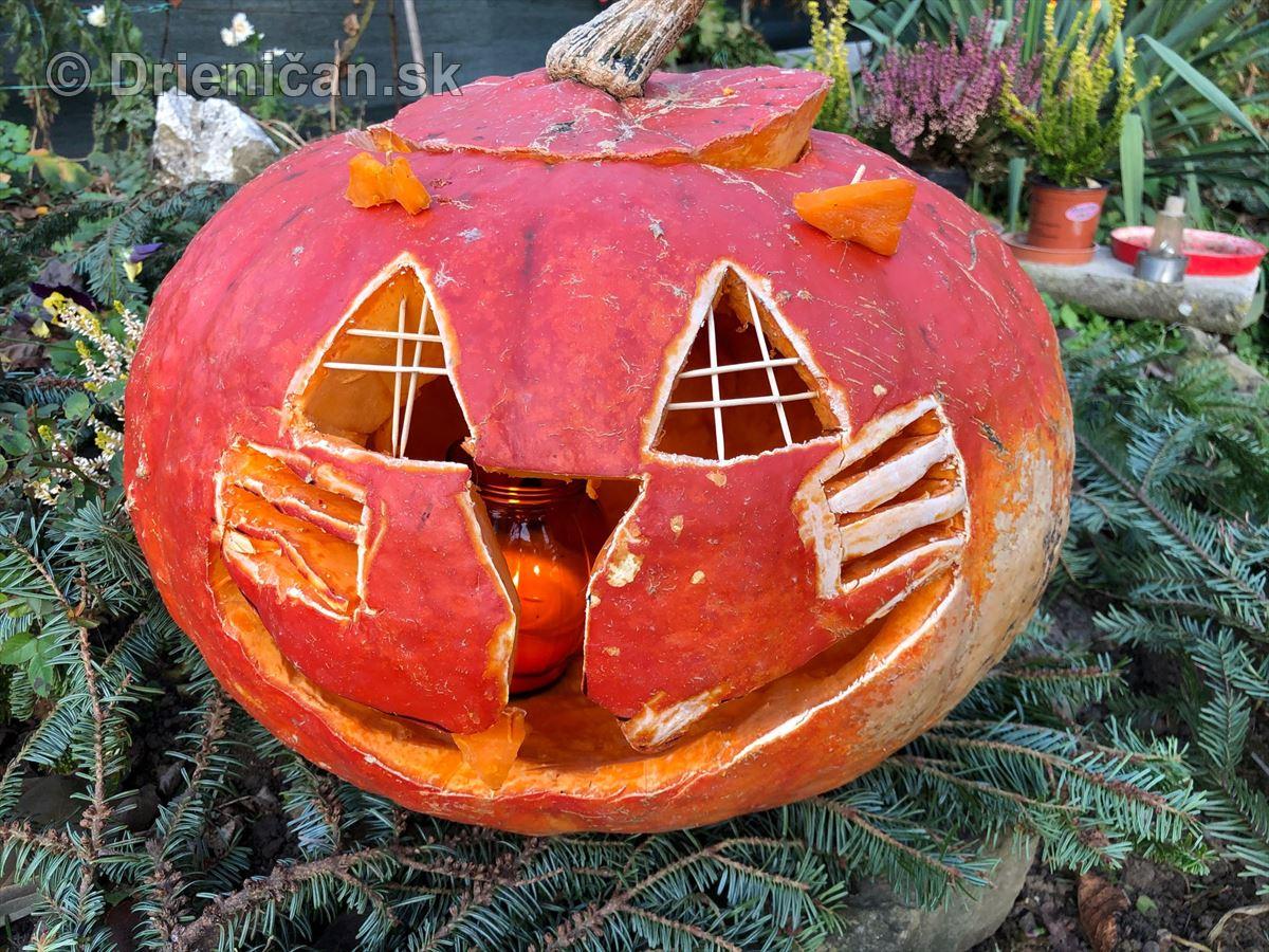 Strašidelné Halloweenske tekvice
