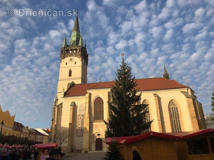 Vianočné trhy v Prešove 2019