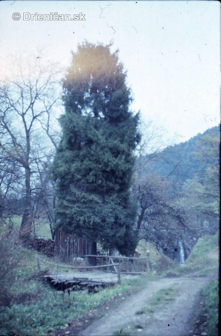 Most od Vaňa ku Blačkakovi, niže Hredi