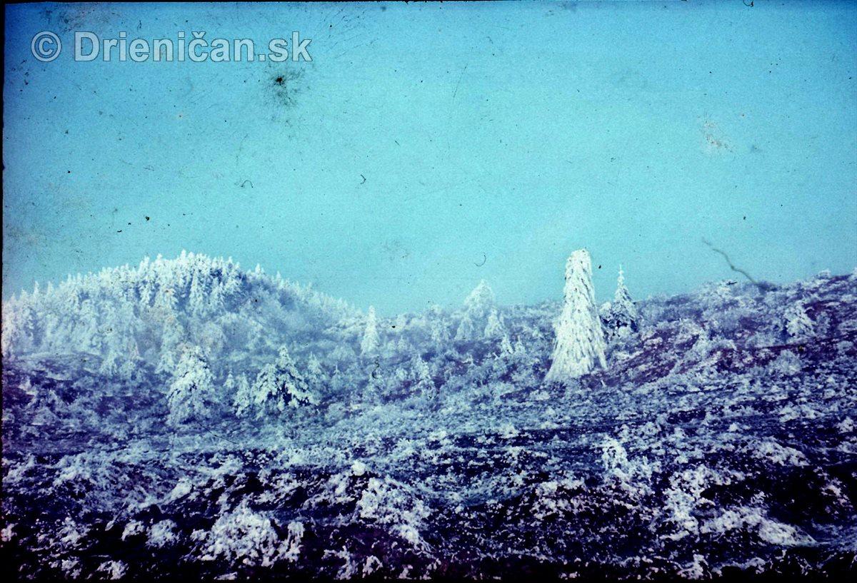Zima v Drienických horách