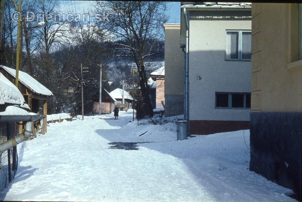 Draha v zimi