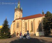 Predvianočný pozdrav z Prešova