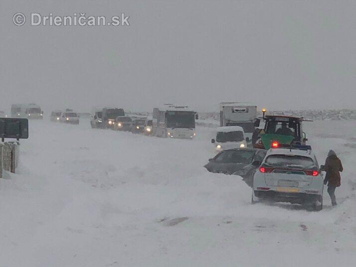 Arktická zima v Sabinovskom okrese