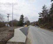 Chodník s osvetlením v rekreačnej oblasti Drienica-Gacky
