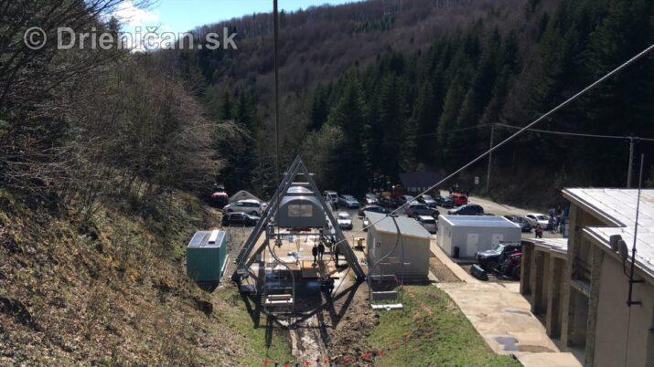 Sedačková lanovka Drienica - Lysá