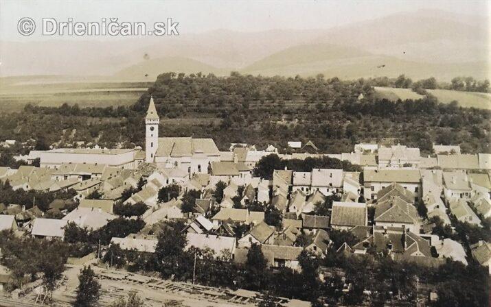 Zabudnuté historické fotografie Sabinova